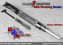 AR0550X Rock River Arms 20 inch Stainless Steel Bull Barrel A4 Varmint Upper Half 5.56/.223