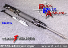 AR0585X Rock River Arms 20 inch HBAR A4 Coyote Upper Half 5.56/.223