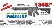 "FACTORY SPECIAL FS308A1532 Rock River Arms LAR-8 308A1532 Predator HP A4 20"" Lightweight Stainless Steel"