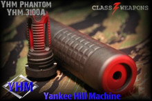 YHM-3100-A Phantom 5.56 QD YHM-3100-A 5.56 NATO Suppressor with Quick Detach Flash Hider