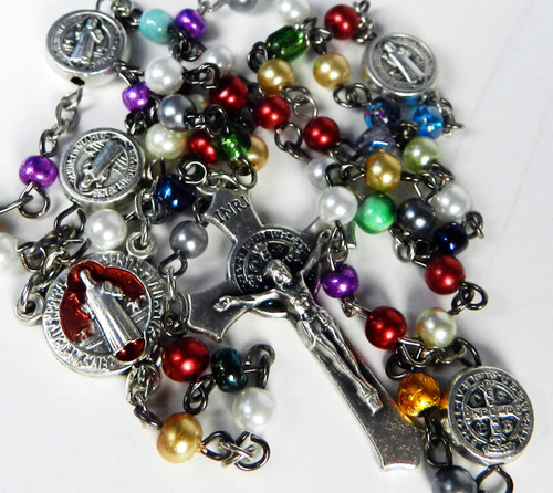 Festive Color Benedictine Rosary