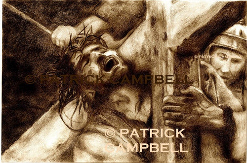 Passion of Christ by Patrick Campbell, Artist