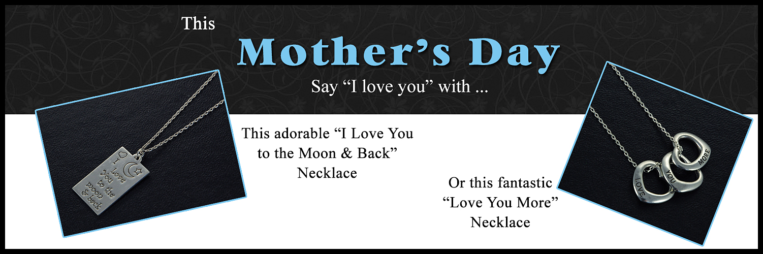 Mothers Day Love You More Necklace Jewelry