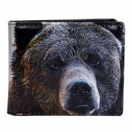 Portrait of a Bear - Mens Wallet