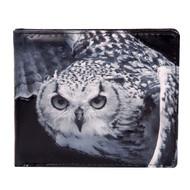 Owl in Flight - Mens Wallet