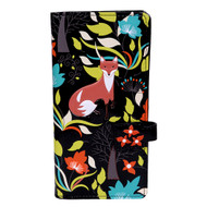 Forest Foxes - Large Zipper Wallet