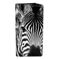 Wild Zebra - Large Zipper Wallet