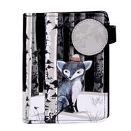 Sly Winter Fox - Small Zipper Wallet