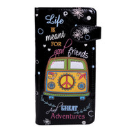 Great Adventures - Large Zipper Wallet
