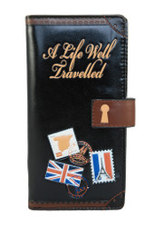 Life Well Travelled - Ladies Zipper Wallet