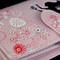 Mermaid - Large Zipper Wallet - Pink