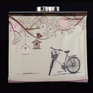 "Vintage Postcard ""Let's Go For A Ride"" - Coin Purse"