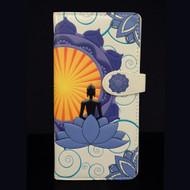 Buddha - Large Zipper Wallet