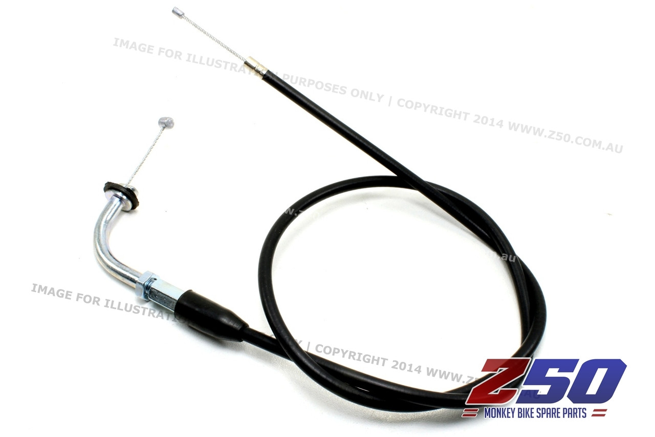 aftermarket honda monkey z50 throttle cable