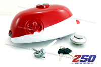 Fuel Tank Assy (Z50A-K0/K1/K2, Red/White Colour)