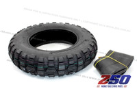 "Tyre & Tube (3.50-8"", Off-Road Tyre)"