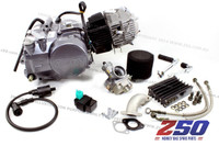 Lifan 140cc Engine (4-Speed Manual) (w/ Air Carby Kit & Oil Cooler) + Ignition Coil, CDI