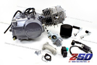 Lifan 125cc Engine (4-Speed Manual) (w/ Air Carby Kit) + Ignition Coil, CDI