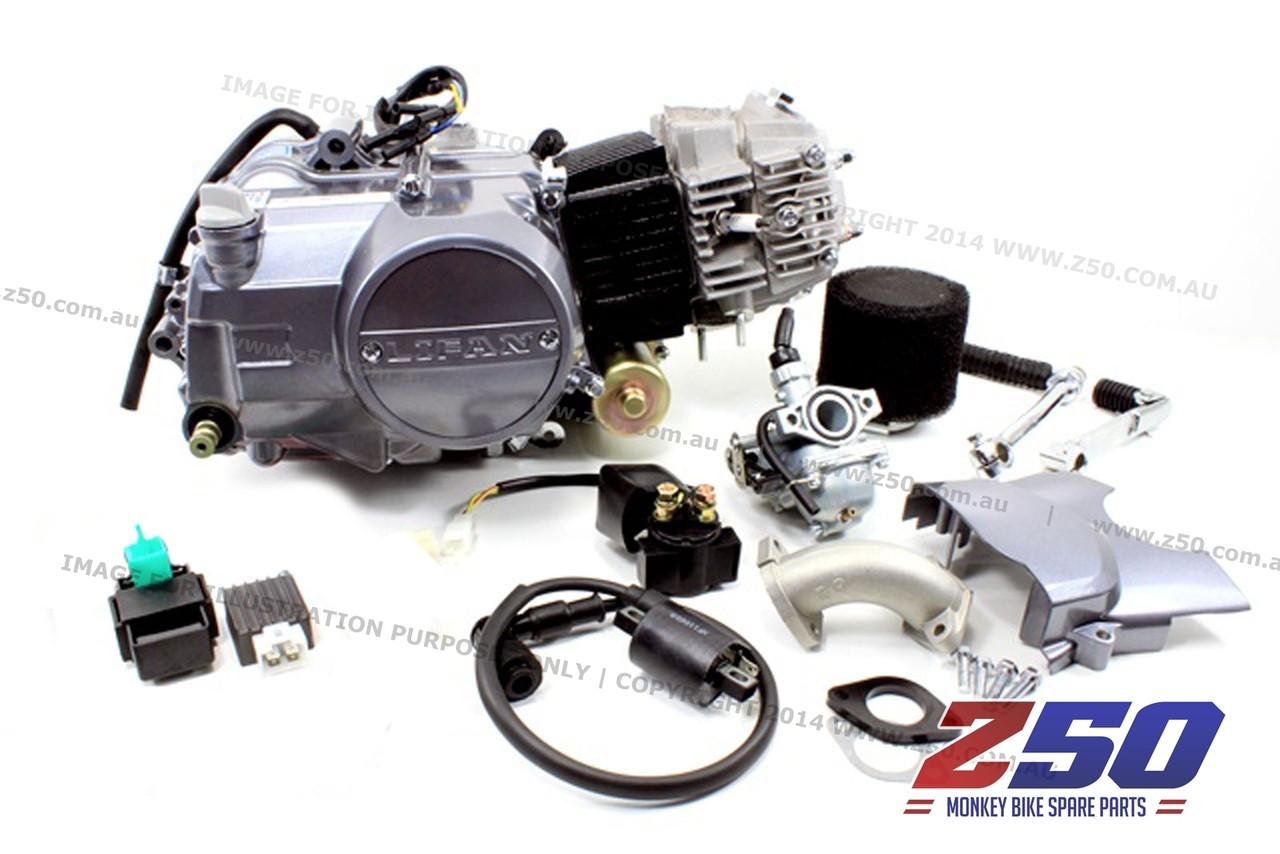 lifan 110cc engine  4  air carby kit