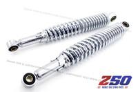 Rear Shock Absorber (330mm C-C, Mono Shock, Chromed)
