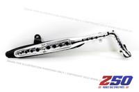 Exhaust Muffler Assy (Dax, Silver Chromed Protector)