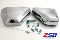 Rear Side Cover, Battery Cover (Plastics Chromed)