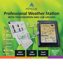 Aercus Instruments WS1093 Touchscreen Weather Station
