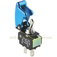 Toggle Switch and Cover - Blue