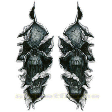 Screaming Ripping Skull LT88358