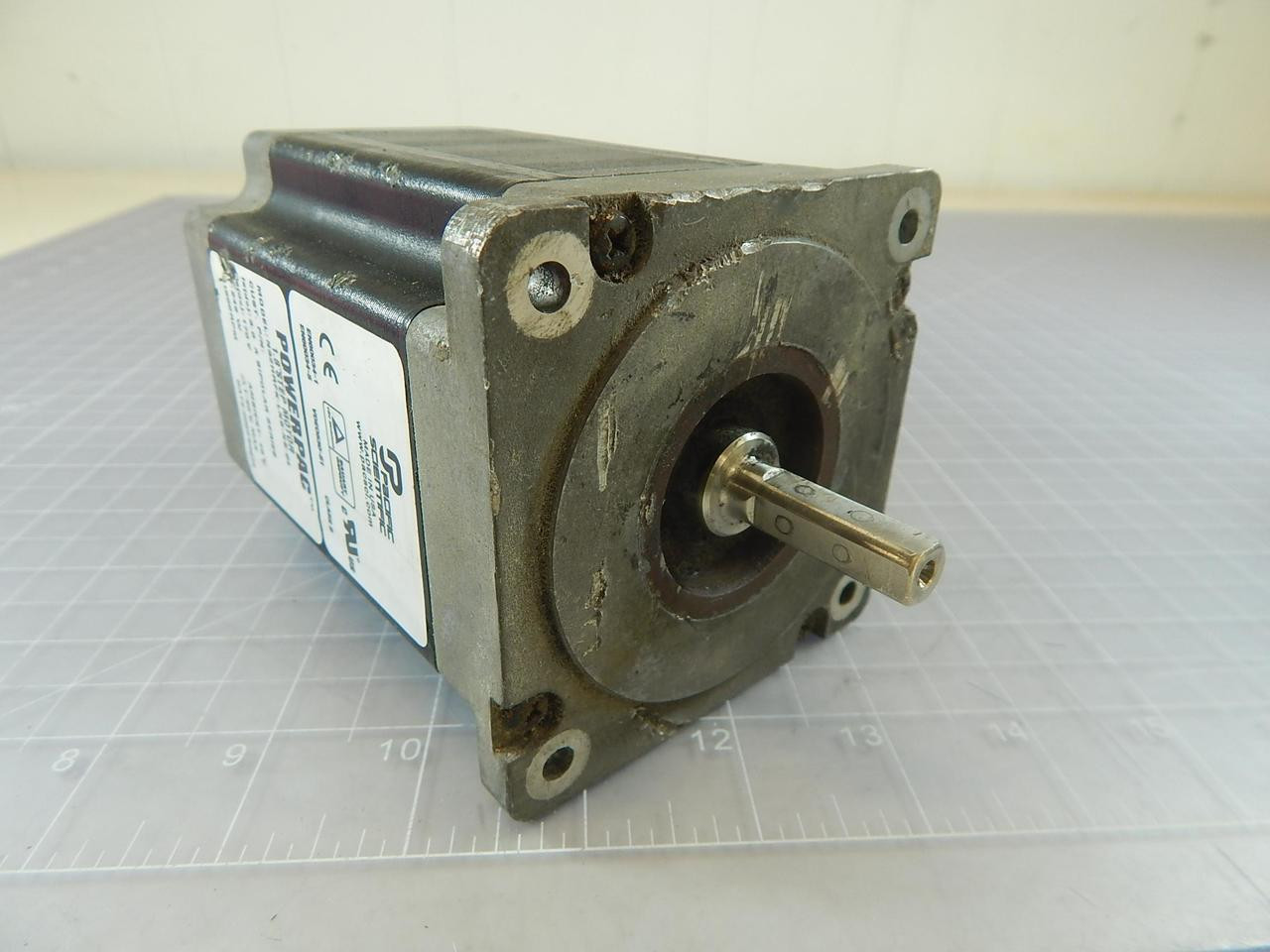 Pacific Scientific N32hrfk Lns Ns 04 Powerpac 1 8 Step Motor 246 W 170 V 1500 Rpm 3 0 A T96559