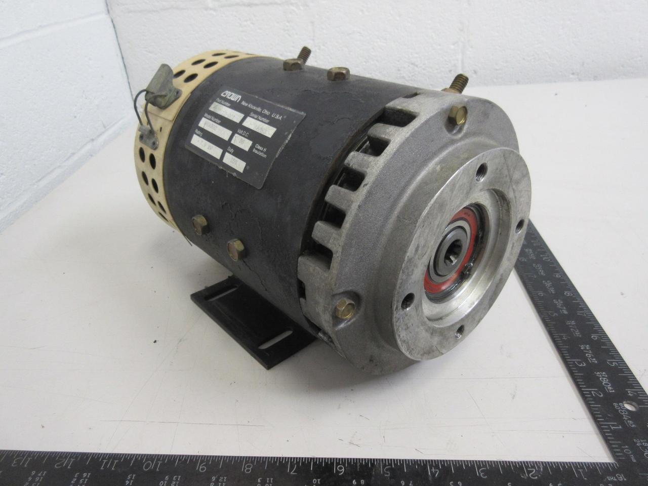 Crown 020113 001 W6ab02 Pump Motor 7 9 Kw 36 Vdc T96913