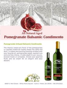 Pomegranate Balsamic Condimento