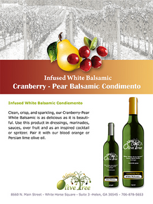 Cranberry-Pear Balsamic Condimento