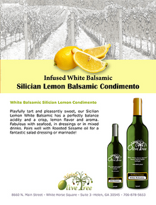 Sicilian Lemon Balsamic Condimento