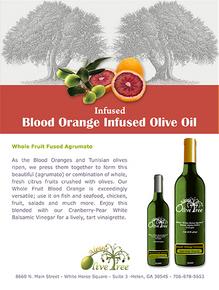Blood Orange Fused Olive Oil