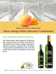 Alfoos Mango Balsamic Condimento