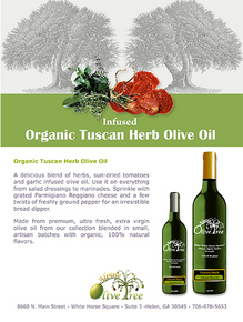 Organic Tuscan Herb Olive Oil