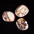 Petrified Wood - Pink - Flat Stone