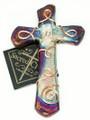 Raku Pottery Cross