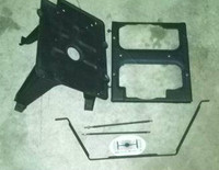 CUCV rear tray with top and supports
