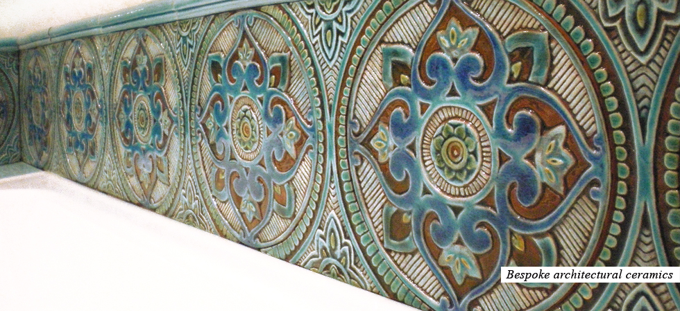 Exclusive ceramic tiles wall art ceramic murals house for Ceramic mural wall tiles
