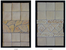 Handmade tile compositions #5