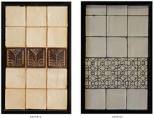 Handmade tile compositions #7