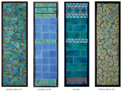 Handmade tile compositions #14