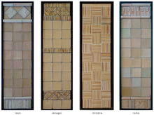 Handmade tile compositions #17