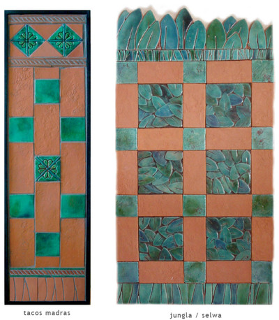 Handmade tile compositions #19