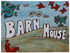House sign made from ceramic  - hand painted sign - house name - barn house