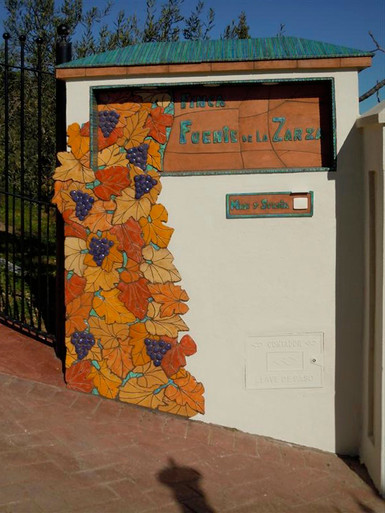 House sign - Finca la Zaraza