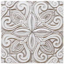 decorative tile - susama - beige [15cm]