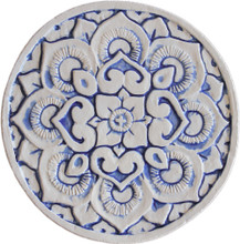 Mandala wall art - blue [21cm]